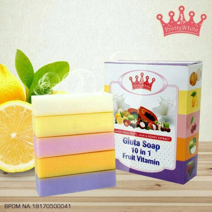 Gluta soap fruit vitamin